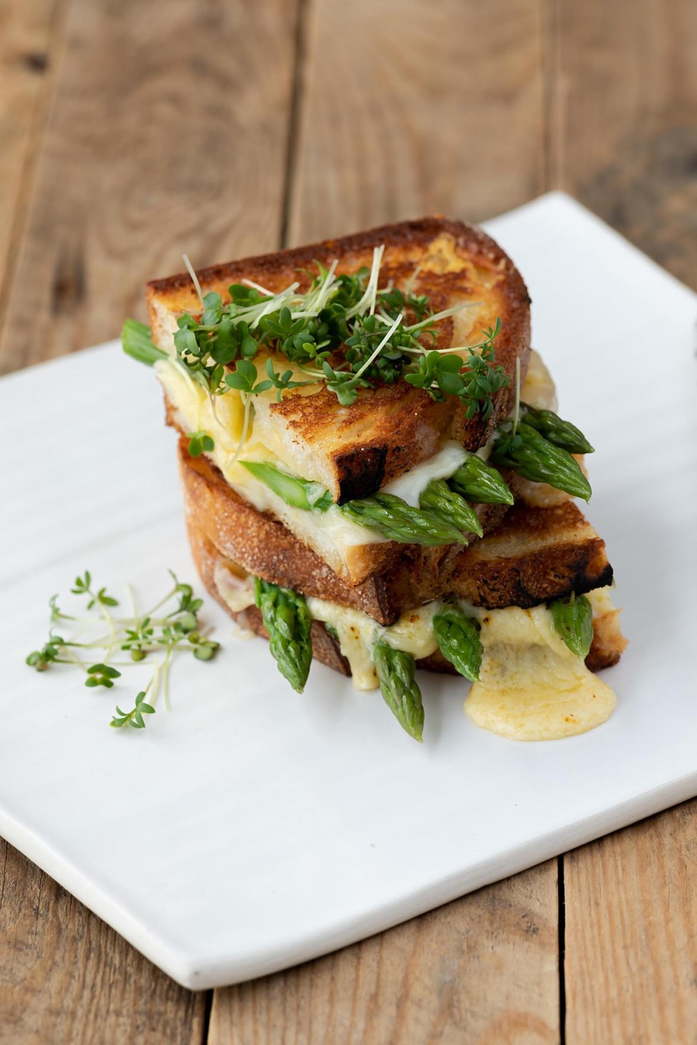 Asparagus Grilled Cheese Sandwich 9