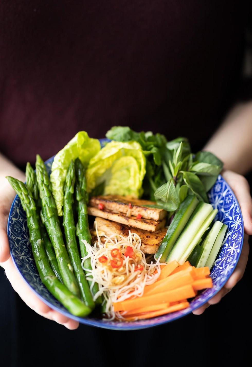 Asparagus Noodle Bowl 7