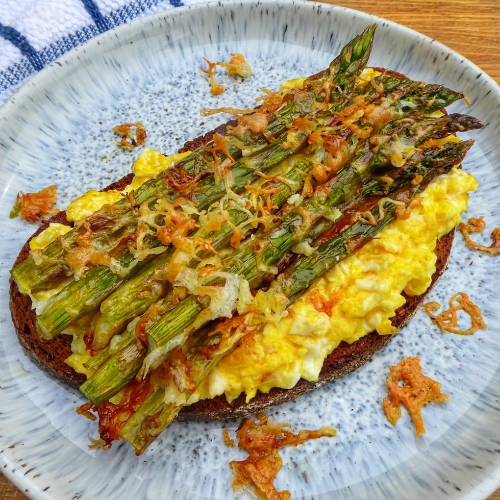 WIAFB cheese asparagus